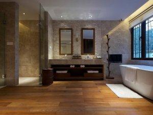 大户型卫生间装修效果图 卫生间浴缸图片