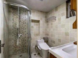 现代风格卫生间淋浴房设计效果图 干湿分离效果图片