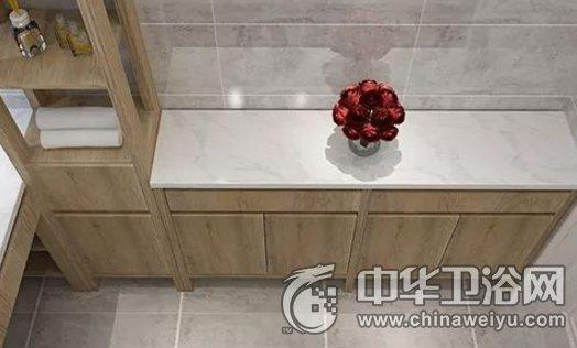 西文 现代风格定制浴室柜效果图