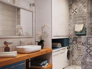 现代北欧风格卫生间装修效果图 小清新系列卫生间装修效果图