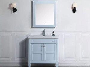 九牧卫浴选配定制  简约风格浴室柜系列效果图