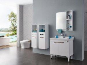 浪鲸卫浴纯艺术浴室柜图片 浴室柜效果图