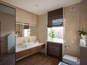 浴室洗漱台装修效果图 简约型浴室装修图片
