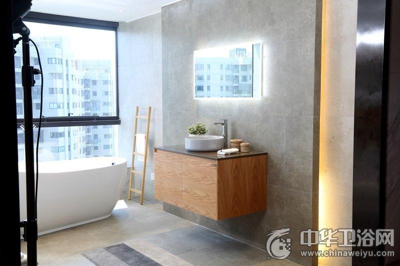 爵能卫浴图片 浴室柜效果图_2