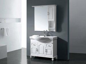 阿洛尼卫浴图片 现代简约浴室柜图片