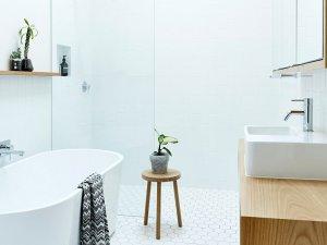 清爽卫生间效果图 浴室浴缸图片大全