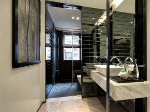 现代风卫生间设计效果图 创意洗手盆图片