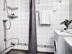 北欧风卫生间设计效果图 卫浴五金图片
