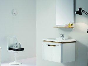 益高卫浴图片 浴室柜PC008-2WG-1效果图