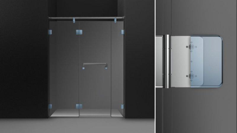 德立淋浴房图片 不锈钢淋浴房EA5产品展示