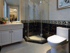 欧式卫生间装修效果图 整体淋浴房图片