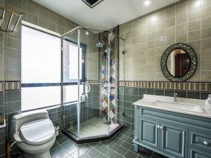 豪华大气卫生间图片大全 清新浴室柜效果图