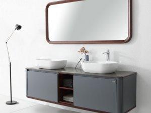 普瑞凡卫浴图片 都市风尚系列浴室柜产品展示