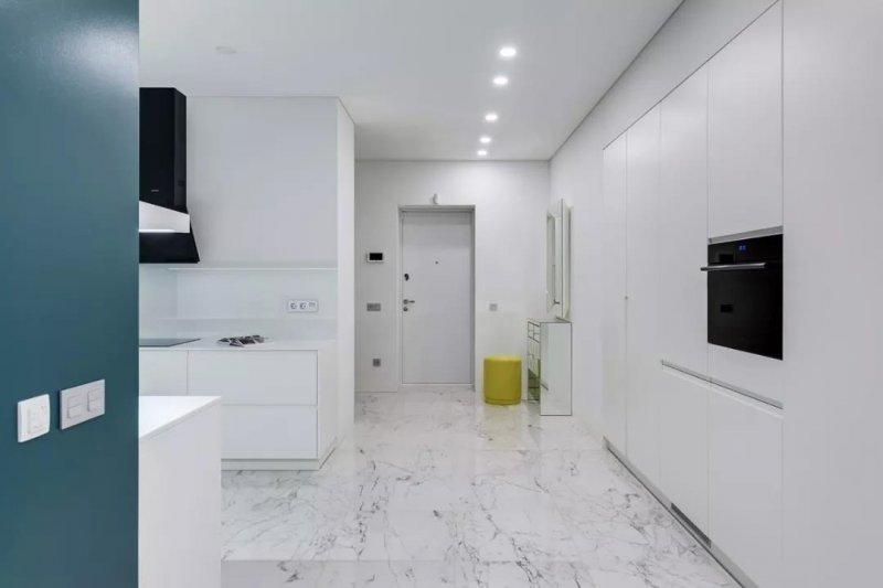 主卧步入式卫生间效果图 极简大气浴缸图片