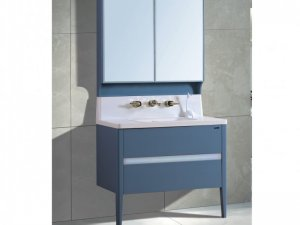 菲戈贝尔卫浴图片 现代简约浴室柜效果图