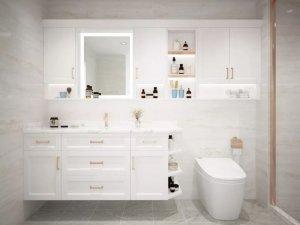 英皇卫浴图片 定制浴室柜系列装修效果图