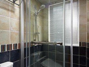 美式卫生间效果图 整体淋浴房图片大全