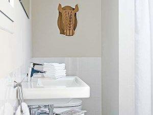 小公寓卫生间图片大全 简约面盆效果图