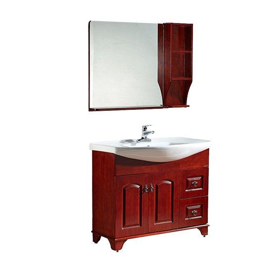 法恩莎卫浴图片 新中式浴室柜FPGM3647-D产品展示