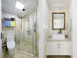 整体淋浴房效果图 美式卫浴间图片大全