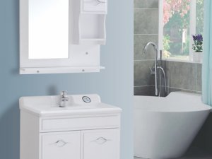东亚丹妮卫浴图片 浴室柜DYDN-X106效果图