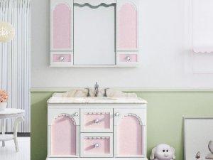 乐浪厨卫图片 浴室柜沐语蕾丝效果图