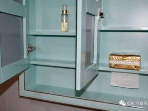 唐彩卫浴图片 橡胶木浴室柜产品展示