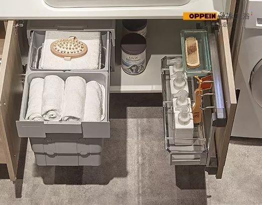 欧派卫浴  新都市记忆系列浴室柜效果图
