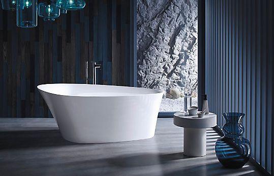 科勒卫浴  灵雅石浴缸效果图
