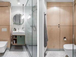 小户型公寓卫生间效果图 智能马桶图片大全