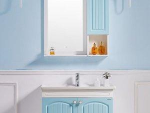 九牧卫浴效果图 欧式风格浴室柜组合图片型号A2182
