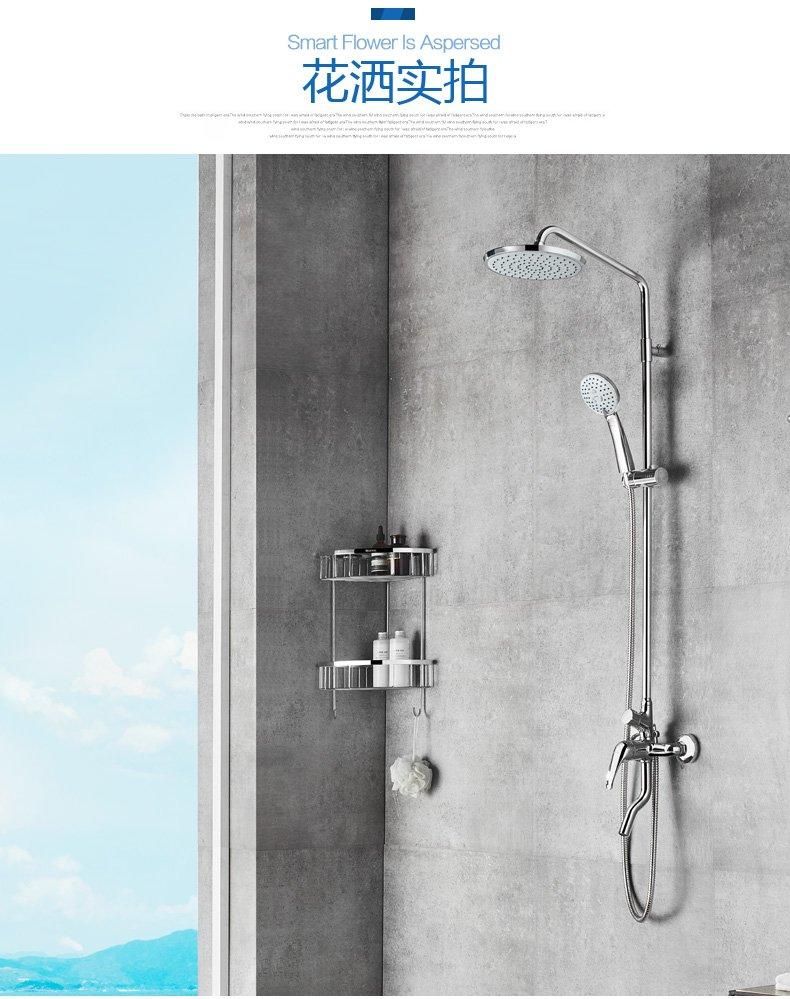 安华卫浴效果图 卫生间白色浴室柜图片