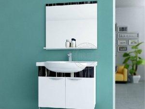 尚高卫浴 实木浴室柜组合面盆洗手盆柜悬挂迪克290效果图