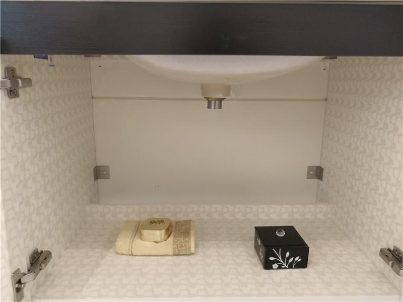 尚高卫浴 陶瓷盆实木浴室柜组合洗脸盆洗漱台洗手池效果图