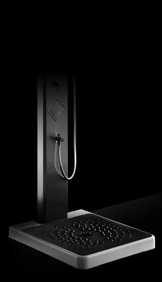 欧帝洁智能集成热水器即热式线蓝牙连接恒无温淋浴屏家用套装