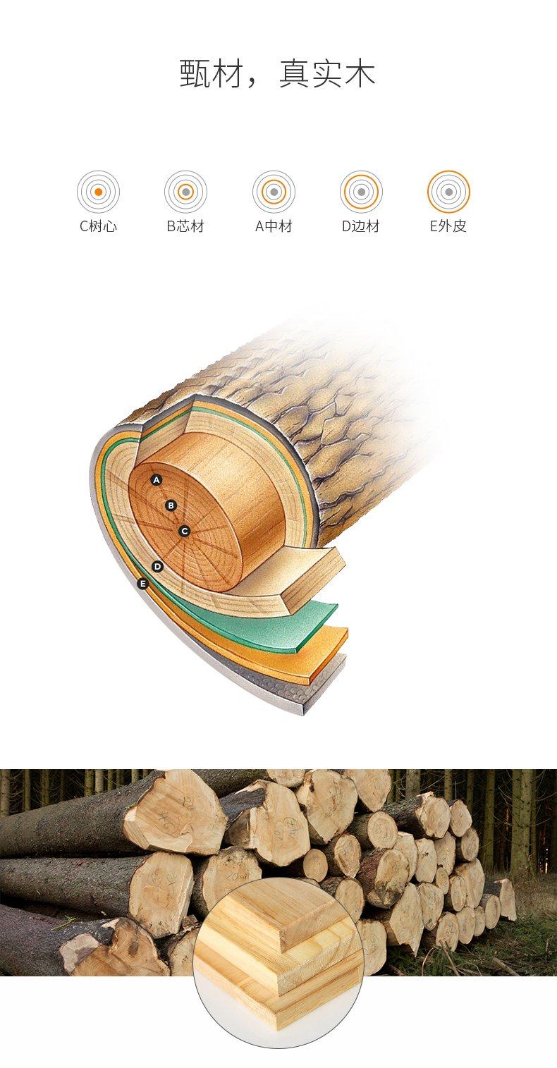 法恩莎卫浴 橡胶木实木浴室柜组合 落地式 台盆洗脸盆FPGM3667F-C效果图