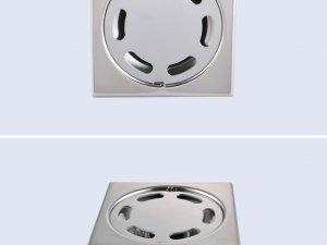 申鹭达卫浴  简洁淋浴房卫生间 防臭地漏 ELD10202效果图