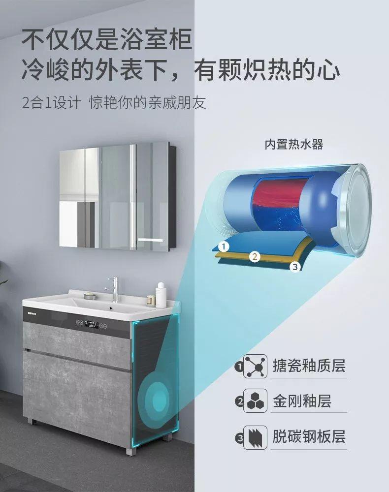 歐必德衛浴 新品浴室柜效果圖