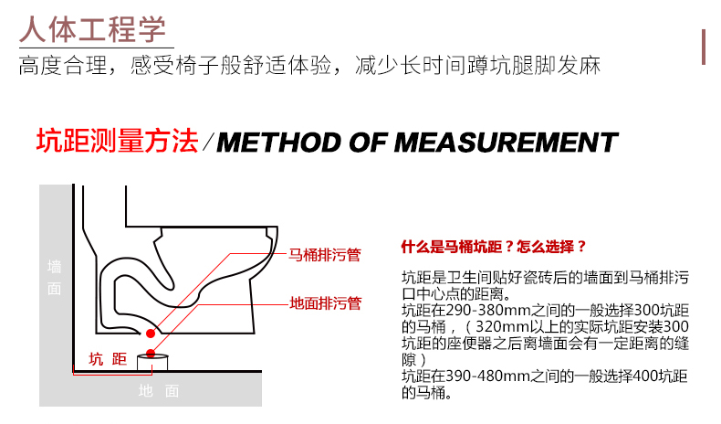 东鹏整装卫浴  节水马桶正品抽水坐便器喷射虹吸式座便器W1401效果图