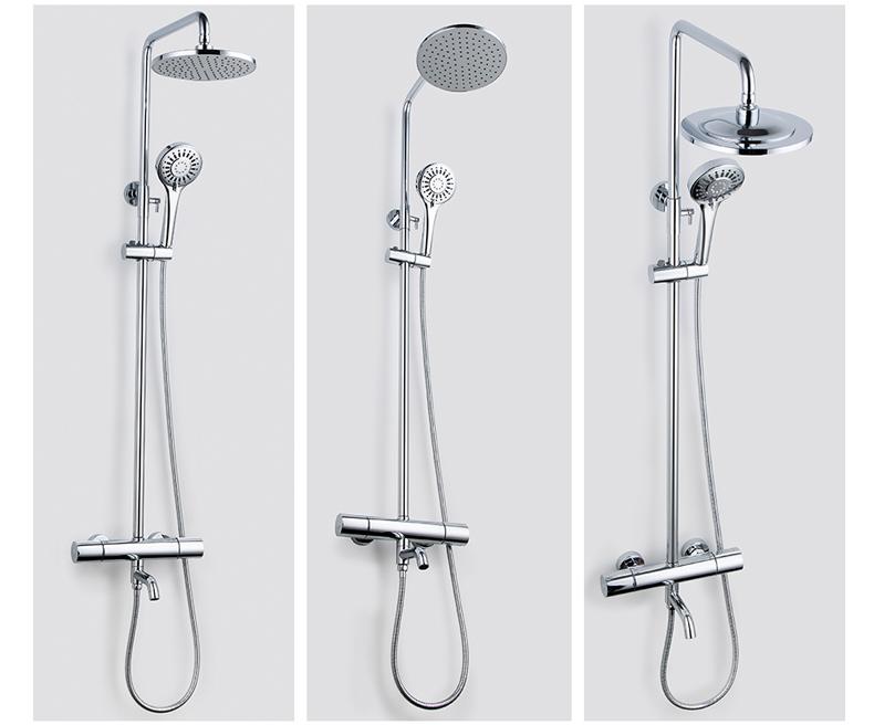 箭牌卫浴 智能恒温花洒淋浴室龙头可升降花洒套装全铜龙头淋浴器增压预效果图