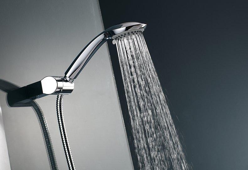 宏浪衛浴 手持花灑淋浴噴頭節水淋雨蓮蓬頭浴室熱水器單頭衛浴配件效果圖