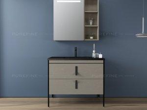 普瑞凡卫浴图片PR204 汉普顿系列浴室柜效果图