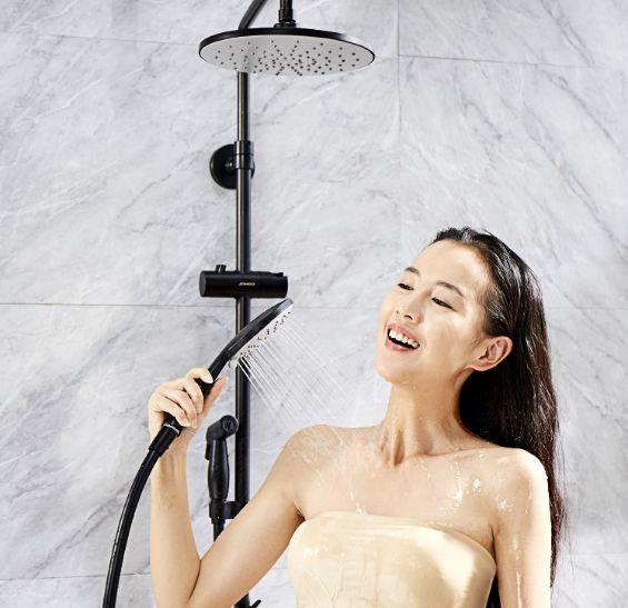 九牧卫浴图片 现代风格喷枪淋浴花洒效果图
