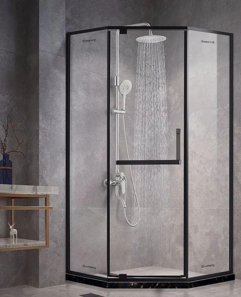 卡贝卫浴图片 简约风格整体淋浴房效果图