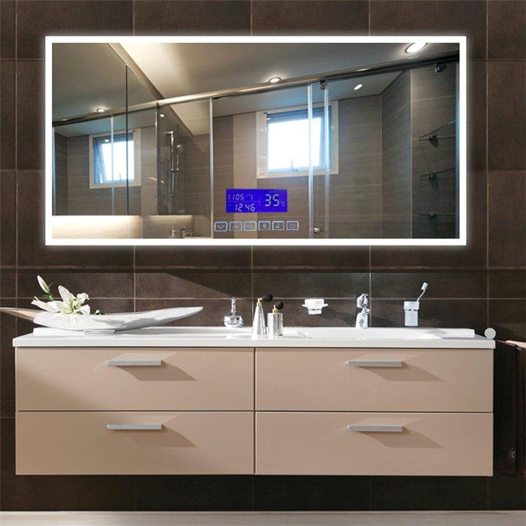 百瀾菲衛浴圖片 多功能浴室鏡效果圖