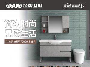 金牌卫浴 生态浴室柜 RF9999-5087