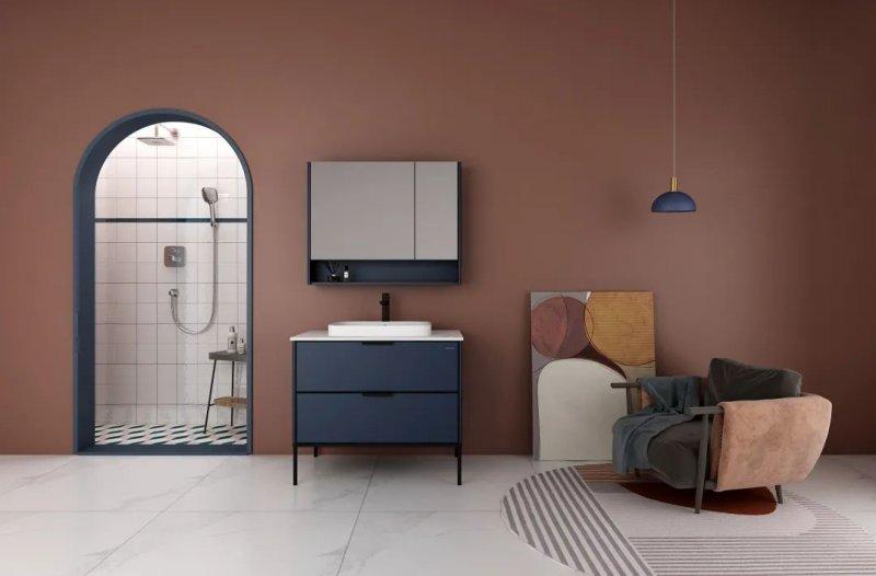 法恩莎卫浴图片 浴室柜产品效果图