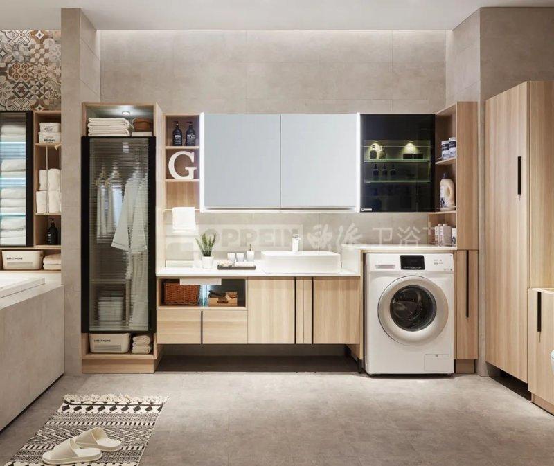欧派卫浴图片 浴室柜系列产品效果图