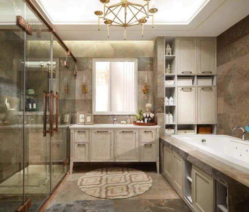 欧派卫浴图片 浴室柜产品效果图_5