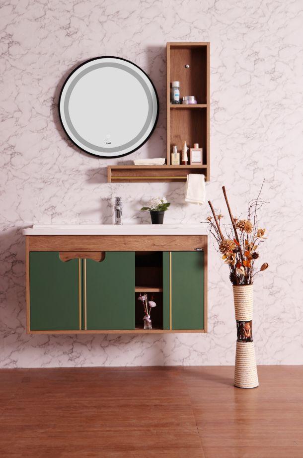 四維衛浴效果圖 月色傾城系列浴室柜產品圖片